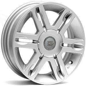 WSP AMBURGO   FIAT hliníkové disky 5x14 4x98 ET38 CB58,1 SILVER