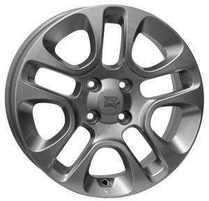 WSP BARI  FIAT hliníkové disky 6x15 4x98 ET35 CB58,1 SILVER