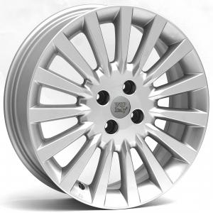 WSP ARNIA FIAT hliníkové disky 6x16 4x100 ET45 CB56,6 SILVER