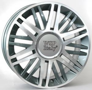 WSP CILENTO   LANCIA hliníkové disky 6,5x16 4x98 ET40 CB58,1 ANTHRACITE POLISHED