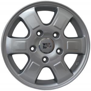 WSP RHINO MERCEDES hliníkové disky 6x15 5x130 ET60 CB84,1 SILVER